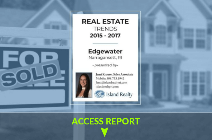 edgewater real estate report